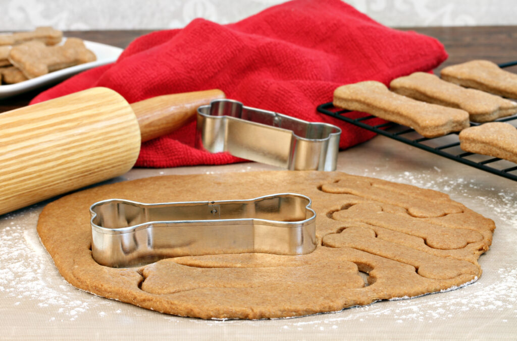 Pečenie domácich sušienok pre psy
