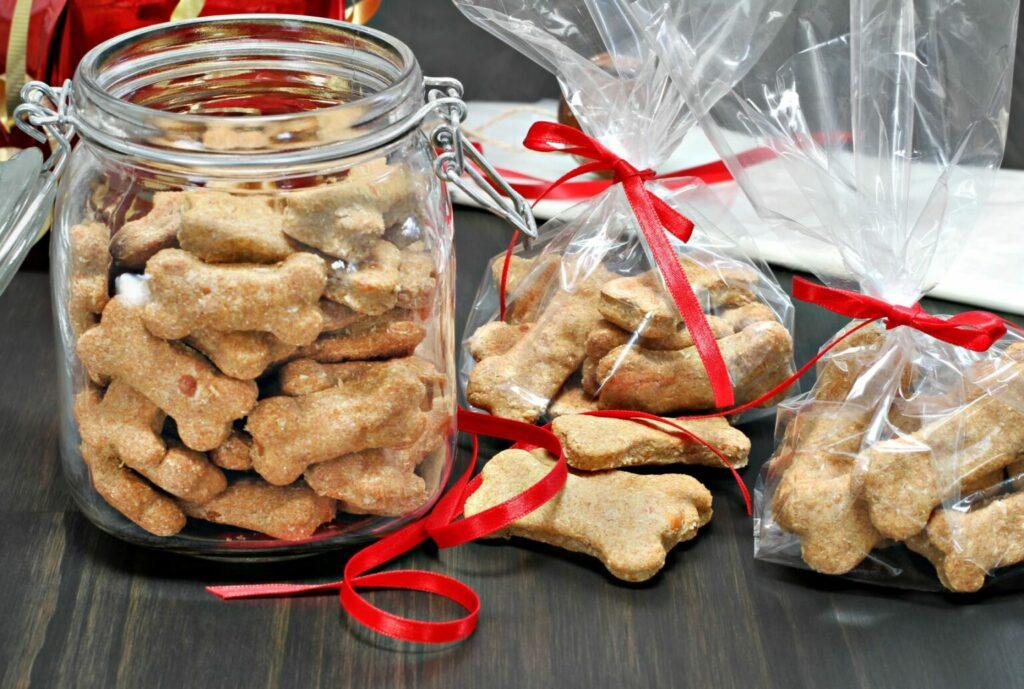 Vianočné keksy pre psov
